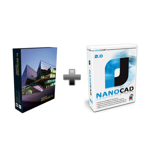 ArchiCAD + nanoCAD
